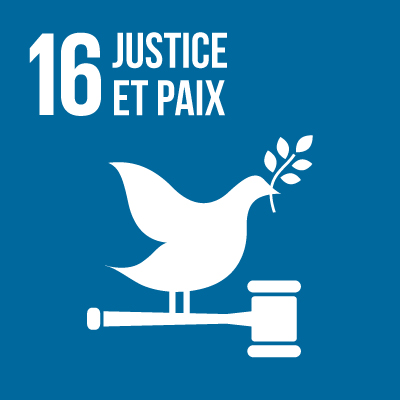 paix justice et institutions efficaces